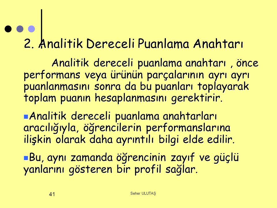 Seher ULUTAŞ 41 2.