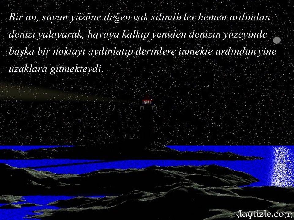 Gemi daha önce döşenen mayın hatlarından geçiyor ve Erenköy Mevkii 'a giriyordu. Deniz sakin, hava simsiyah, zifiri karanlıktı. Uzaklarda dolaşan düşm