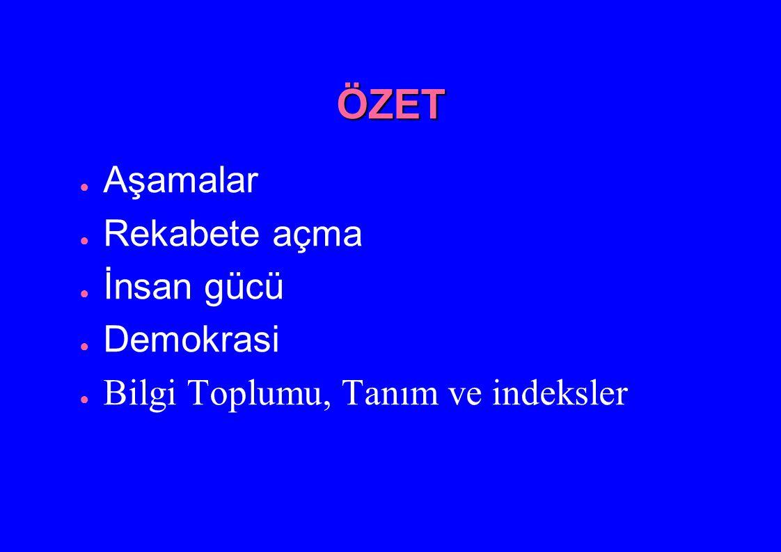ÖNCELİKLER - Acil Eylem Planı (-1)BIT ve STK ların örgütlenmesi (0)Toplumun gündemine girme (1)Ulusal boyutta örgütlenme (2)Mekanizmalar (3)Eylem planı (4) Bilişim Komisyonu (5) E-Türkiye Kurultayı (?)Mega proje (?)Seferberlik