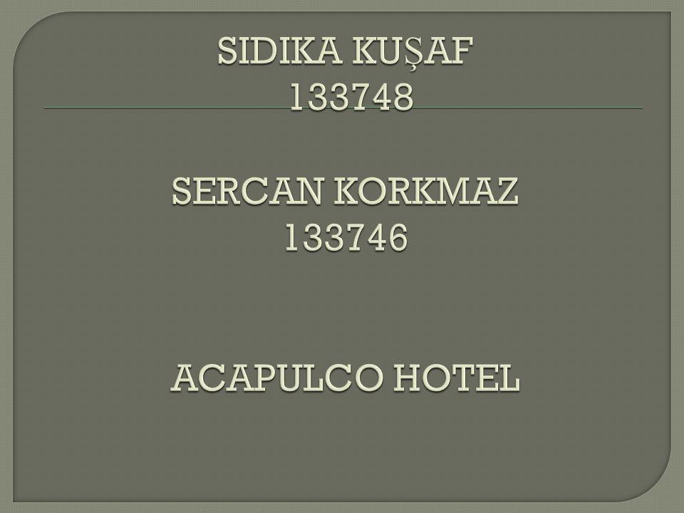 Kuzey Kıbrıs'ta artık bir sembol olmu ş olan Acapulco Resort Convenion SPA Otel 120.000m2'lik alan üzerine kurulmu ş olup denize sıfır ve 1 km uzunlugunda Kıbrıs'ın en güzel kumsalına sahiptir.
