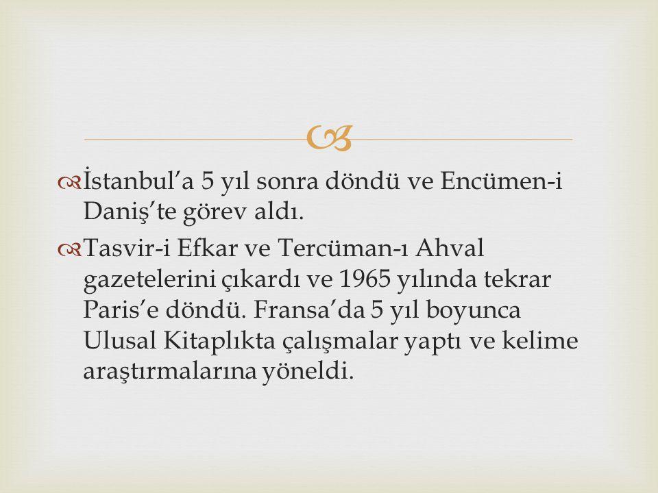   Mahalle Sıbyan okulunu ve Fevziye okulunu tamamlayıp katip adayı olarak Müşiriyeti Mektubi kalemine katıldı.  Farsça Arapça ve Fransızca öğrenen