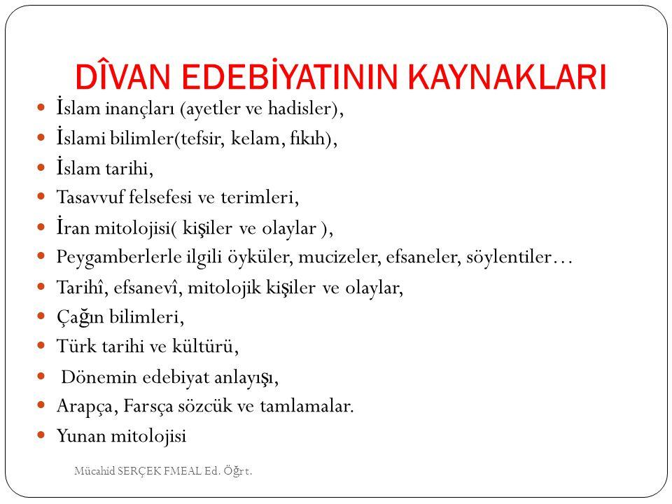 NEF'Î (1582-1636) Asıl adı Ömer dir, Erzurumludur.
