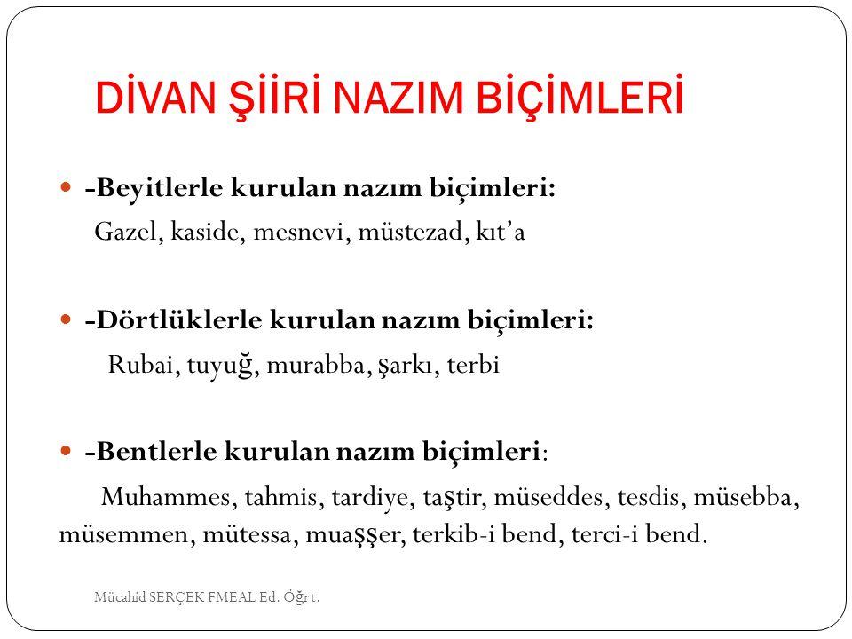 NEDİM (1681-1730) İstanbul'da doğmuş, Damat İbrahim Paşa'nın himayesinde yaşamıştır.