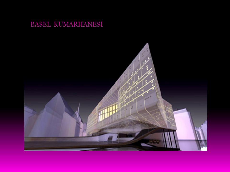 Hadid 2004 yılında Pritzker Ödülü'nü kazanan ilk kadın mimar olmuştu.