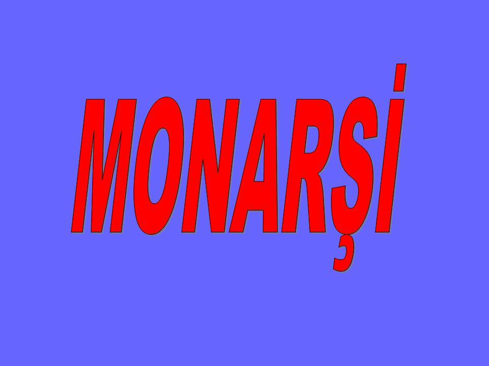 Bir kişinin kayıtsız şartsız egemenliğidir. Mutlak Monarşi de denir.