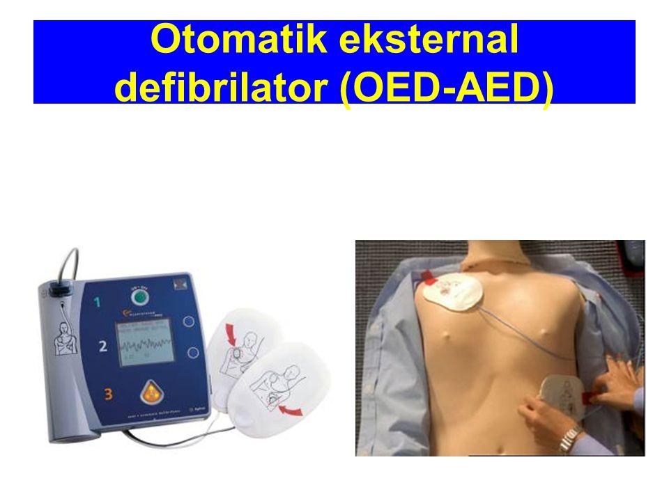 Otomatik eksternal defibrilator (OED-AED)