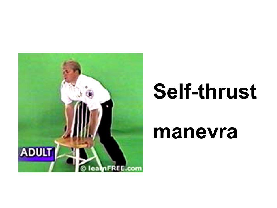 Self-thrust manevra
