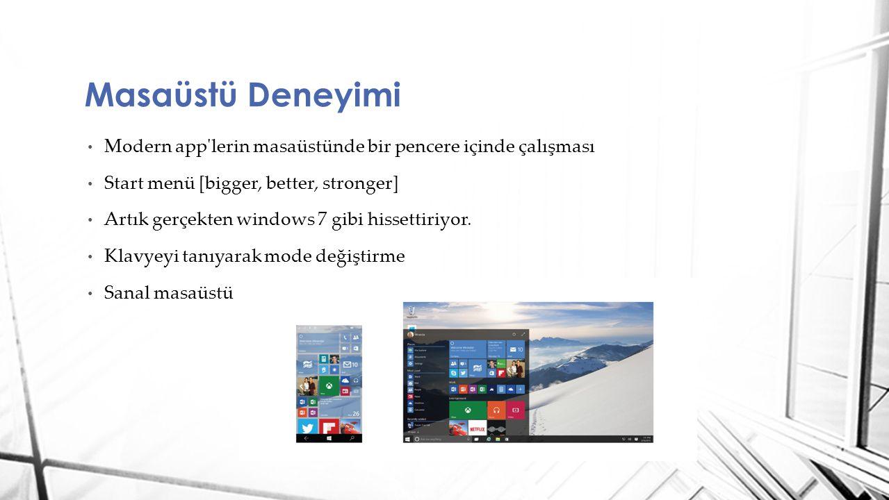Windows Developer Program for IoT Raspberry Pi 2 desteği https://dev.windows.com/en- us/featured/raspberrypi2support?logged_in=1 https://dev.windows.com/en- us/featured/raspberrypi2support?logged_in=1 Internet of Things (IoT)