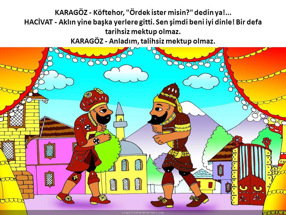 KARAGÖZ - Köftehor,