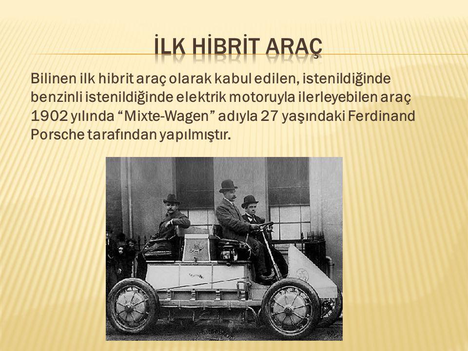 Günümüzde üç farklı tip hibrit otomobil mevcuttur.