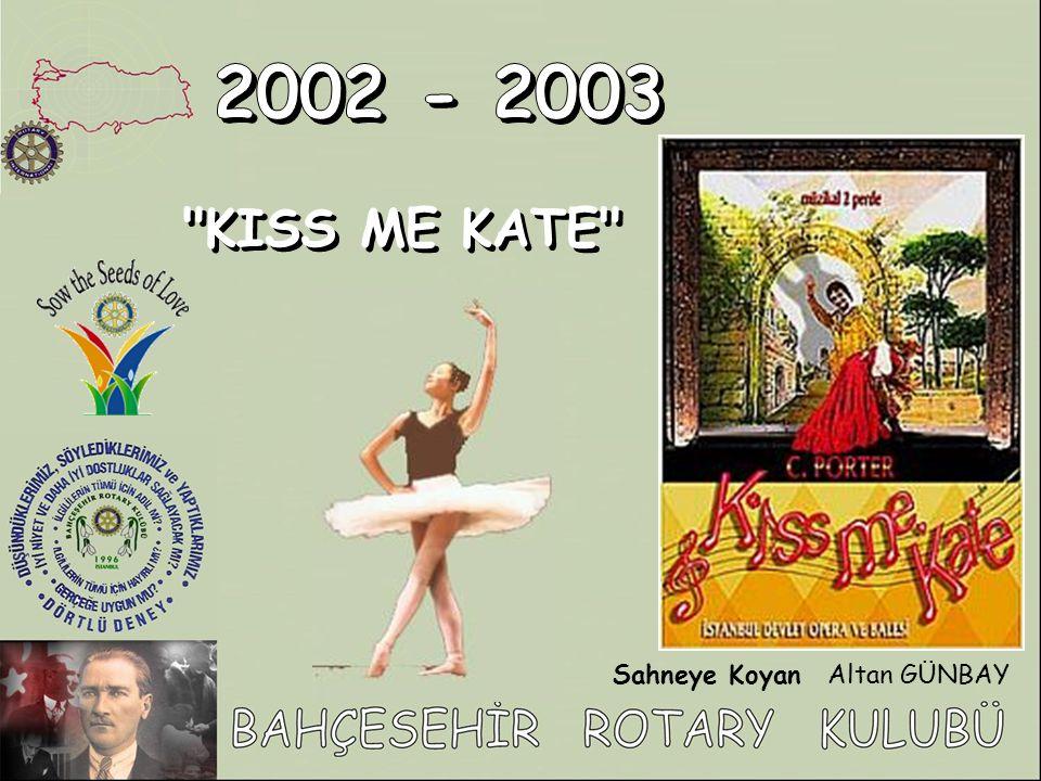 KISS ME KATE KISS ME KATE Sahneye KoyanAltan GÜNBAY