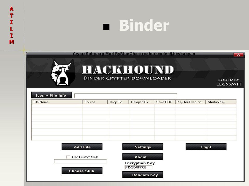 Binder ATILIM