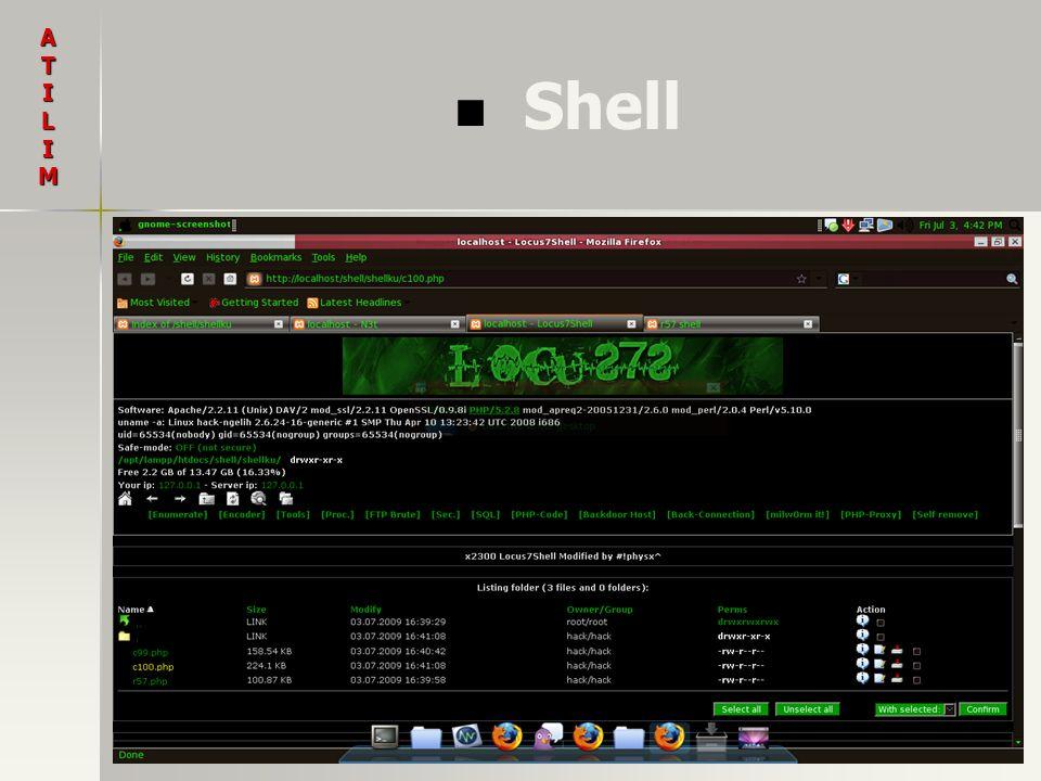 Shell ATILIM