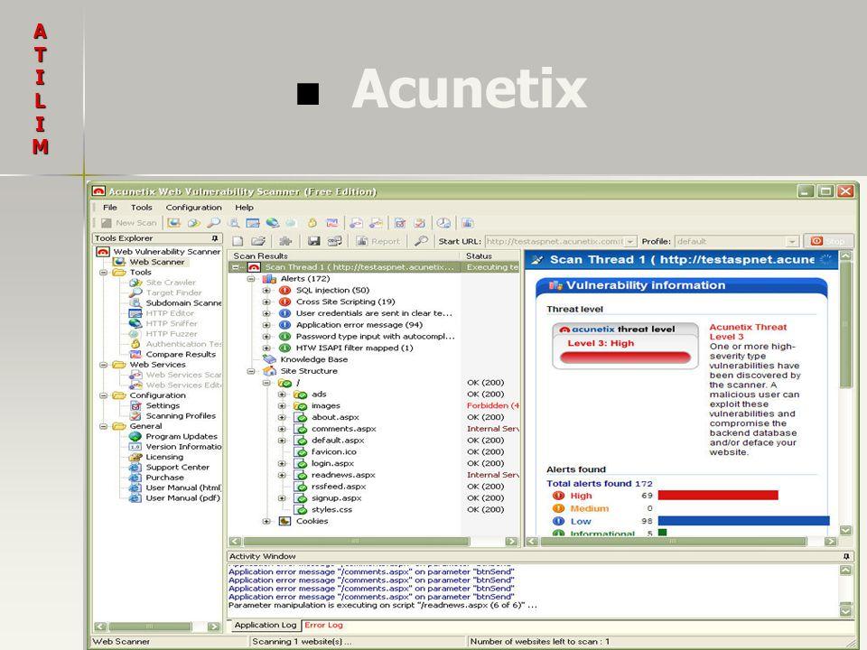 Acunetix ATILIM