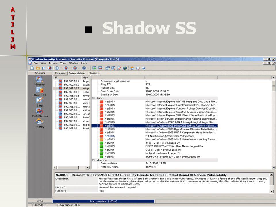 Shadow SS ATILIM