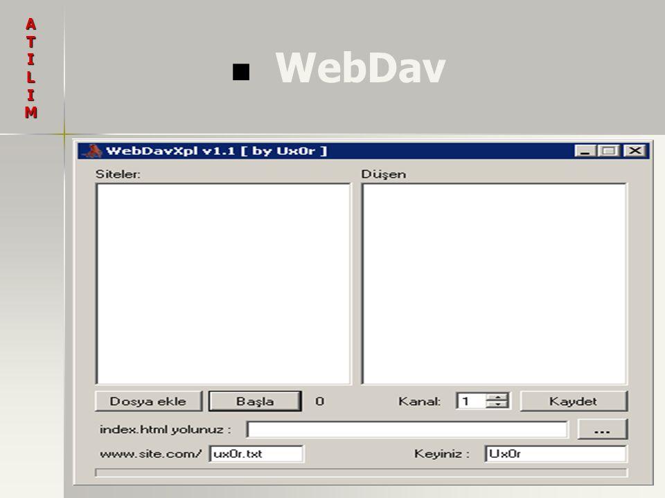 WebDav ATILIM