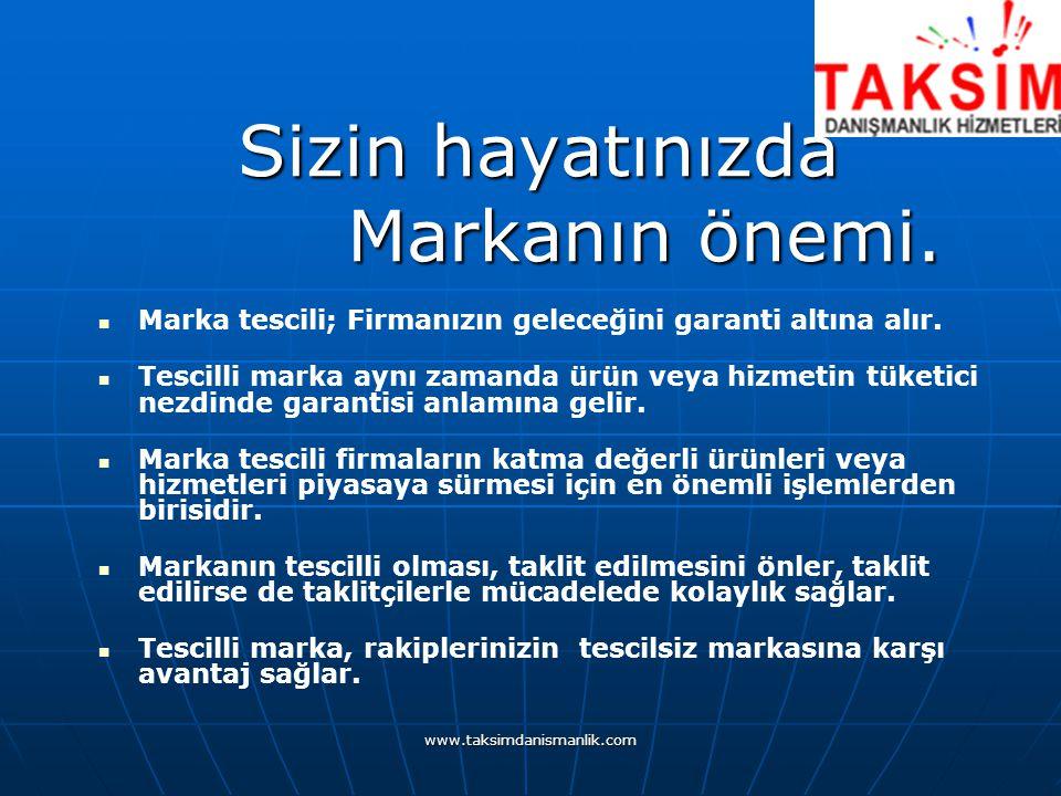 www.taksimdanismanlik.com Sizin hayatınızda Markanın önemi.
