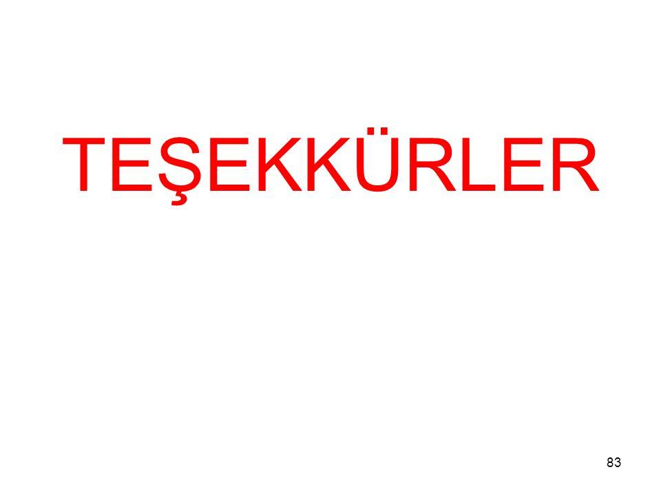 TEŞEKKÜRLER 83