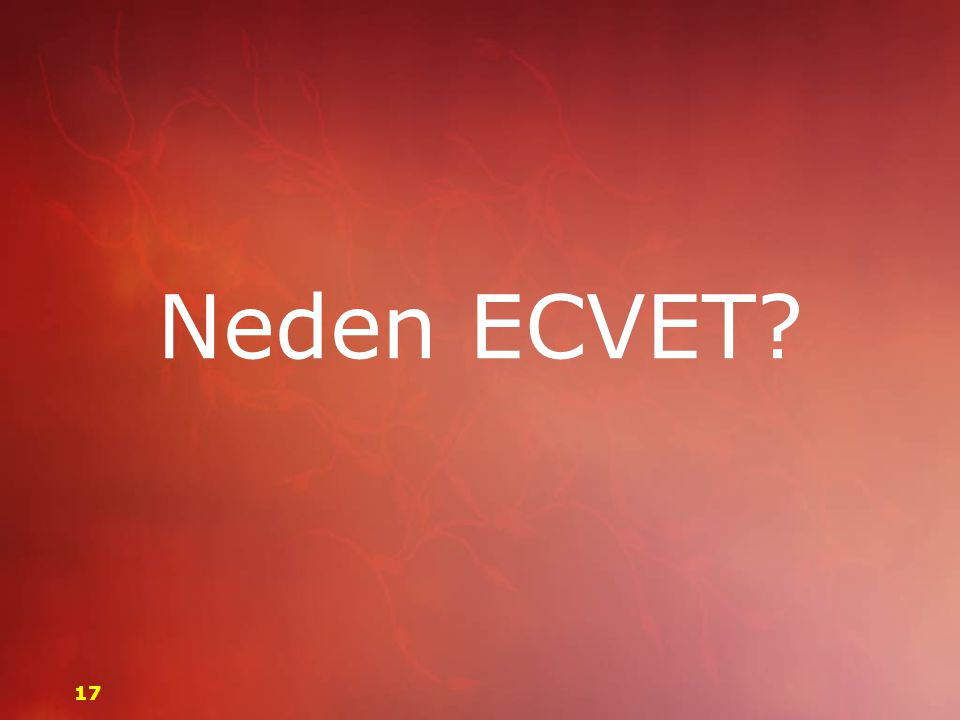 Neden ECVET 17