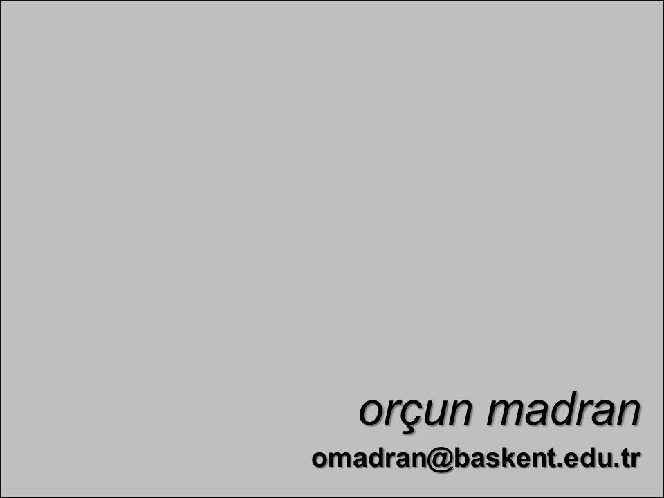 omadran@baskent.edu.tr orçun madran