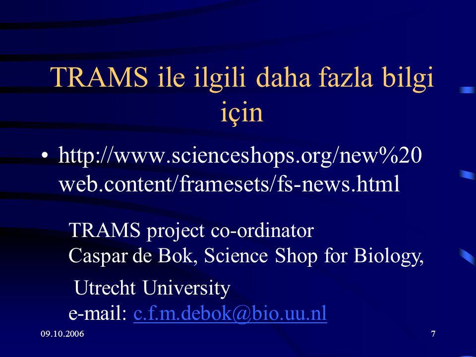09.10.20068 Bilim Ofisi- Science Shop Nedir.