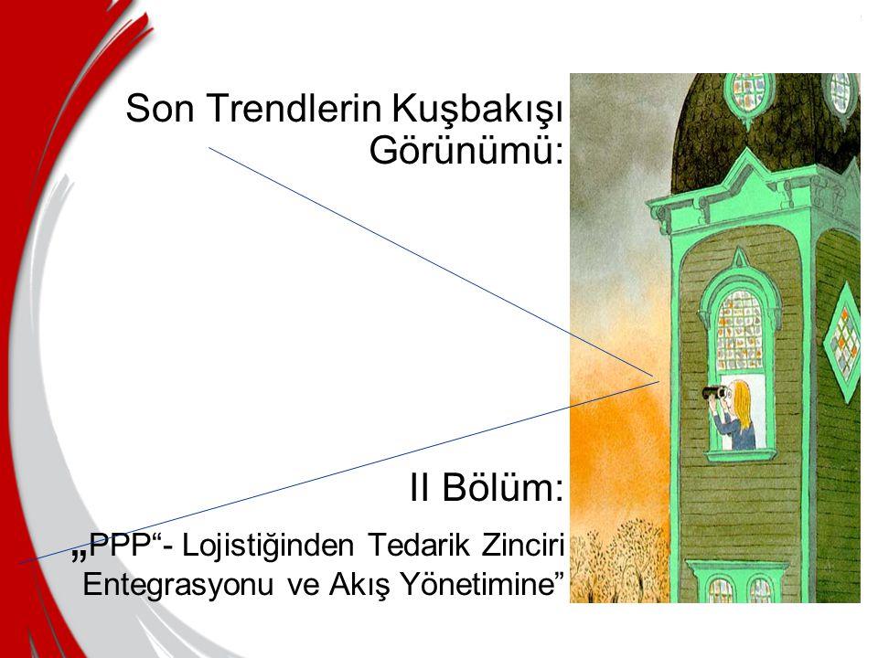 """Son Trendlerin Kuşbakışı Görünümü: II Bölüm: """" PPP - Lojistiğinden Tedarik Zinciri Entegrasyonu ve Akış Yönetimine"""