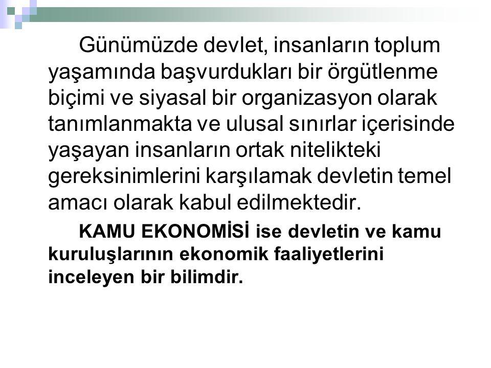 İktisadi kaynakların etkin dağılımı ekonominin genel dengesi ile yakın bir ilişki içerisindedir.