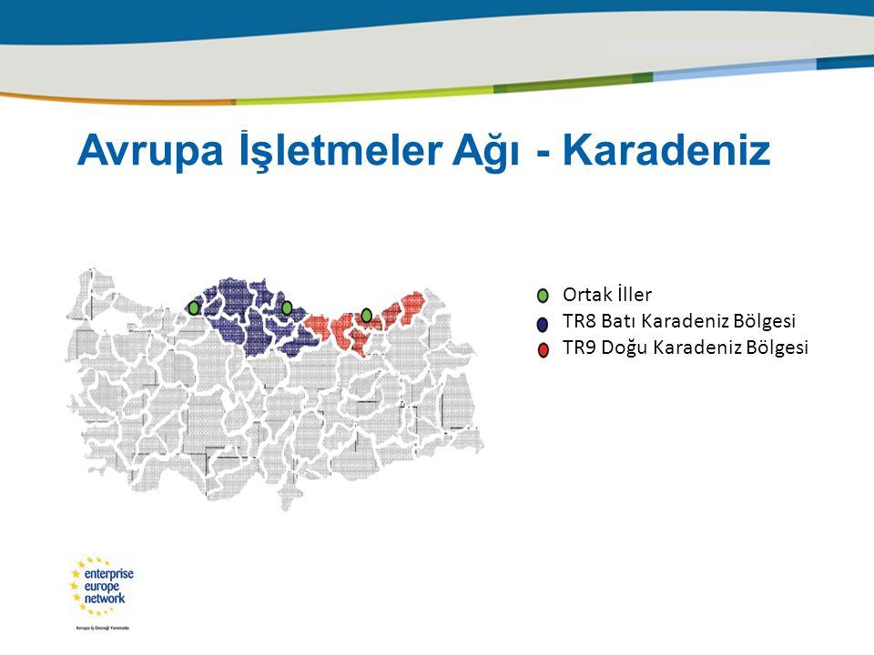  2 NUTS I bölgesi içinde 4 NUTS II bölgesi  16 il,  6 ortak,  7 irtibat ofisi,  11 ofis,  24 personel,  25000 KOBİ ve işletme,