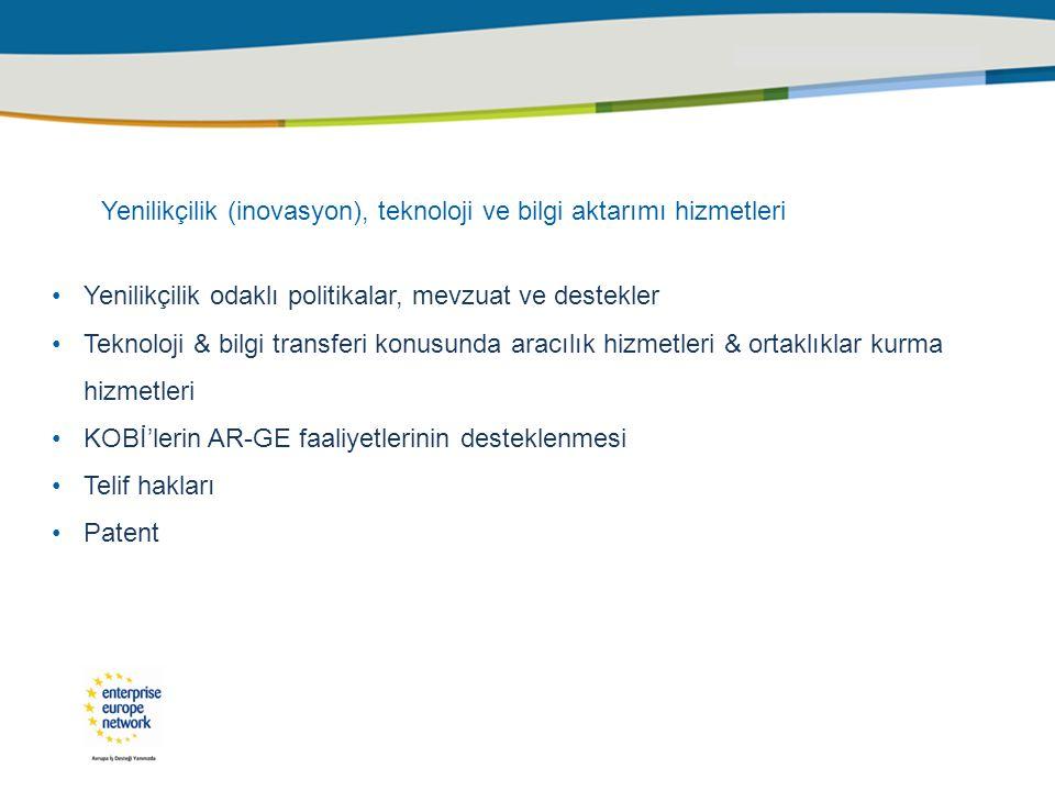 Ar – Ge ve İnovasyon Semineri 03 Haziran 2010 - Samsun