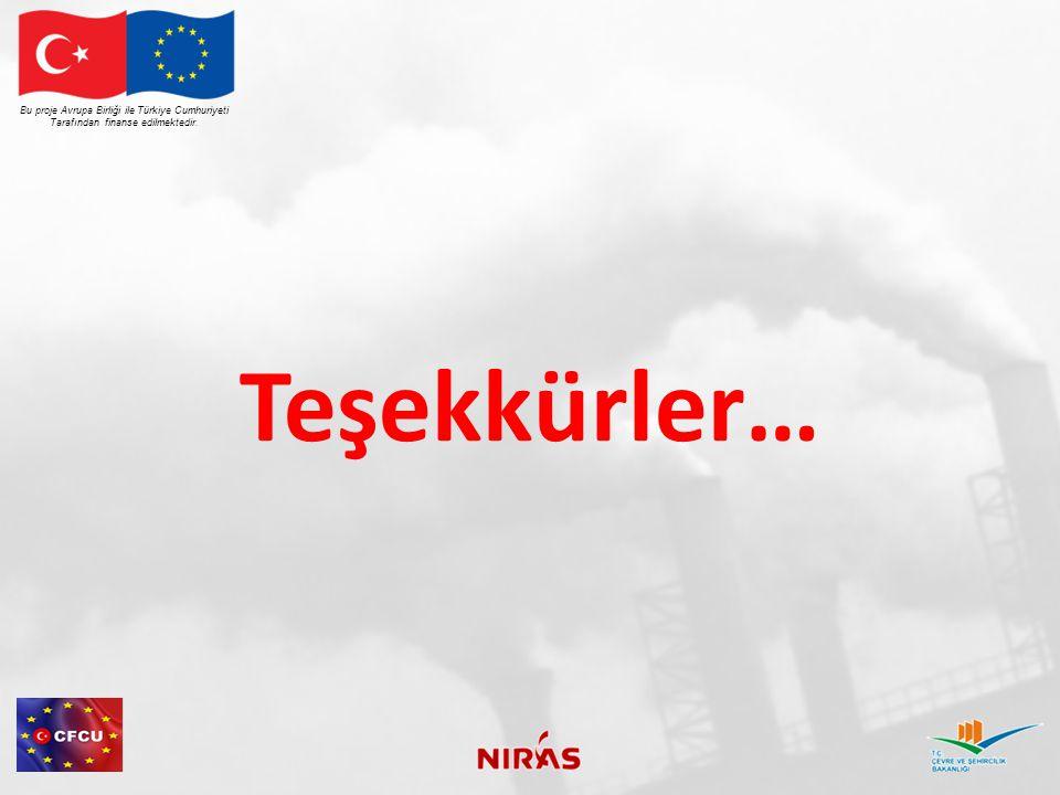 Teşekkürler… Bu proje Avrupa Birliği ile Türkiye Cumhuriyeti Tarafından finanse edilmektedir.