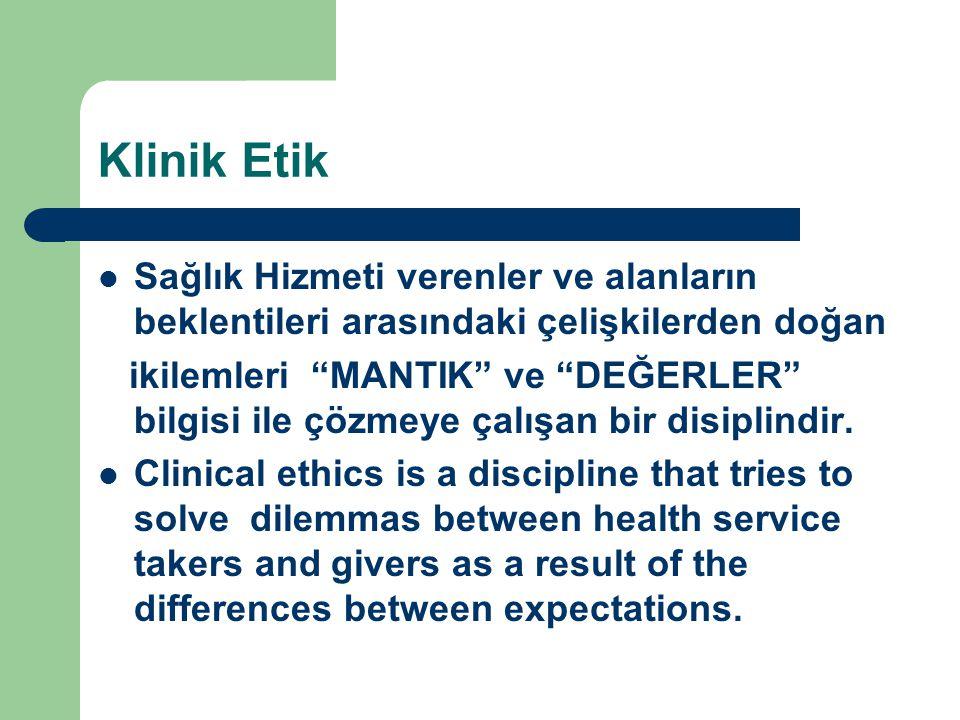 Danışmana ihtiyaç var mı.Etik Danışmanlık nedir. Klinik Etik Danışmanlık nedir.