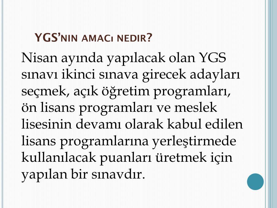 2013 Ygs Türkçe Konuları