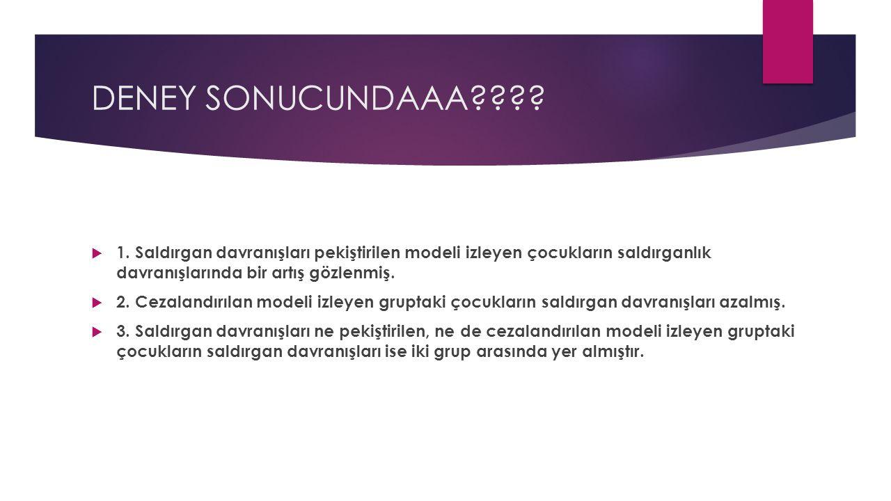 DENEY SONUCUNDAAA???. 1.