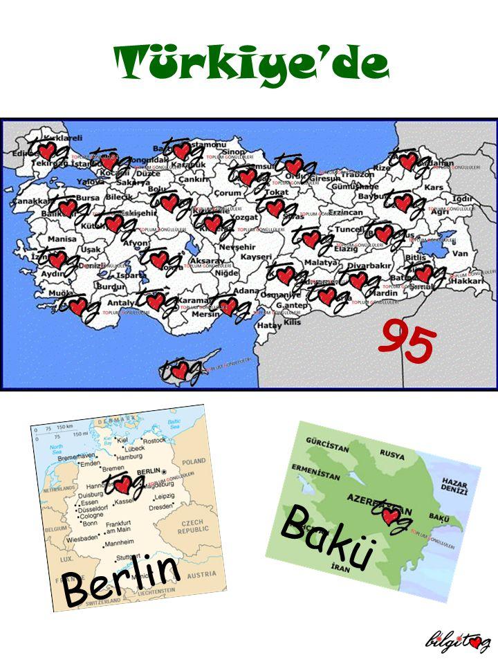 95 Bakü Berlin Türkiye'de
