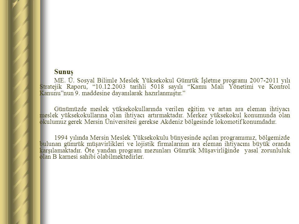I.GENEL BİLGİLER 1.
