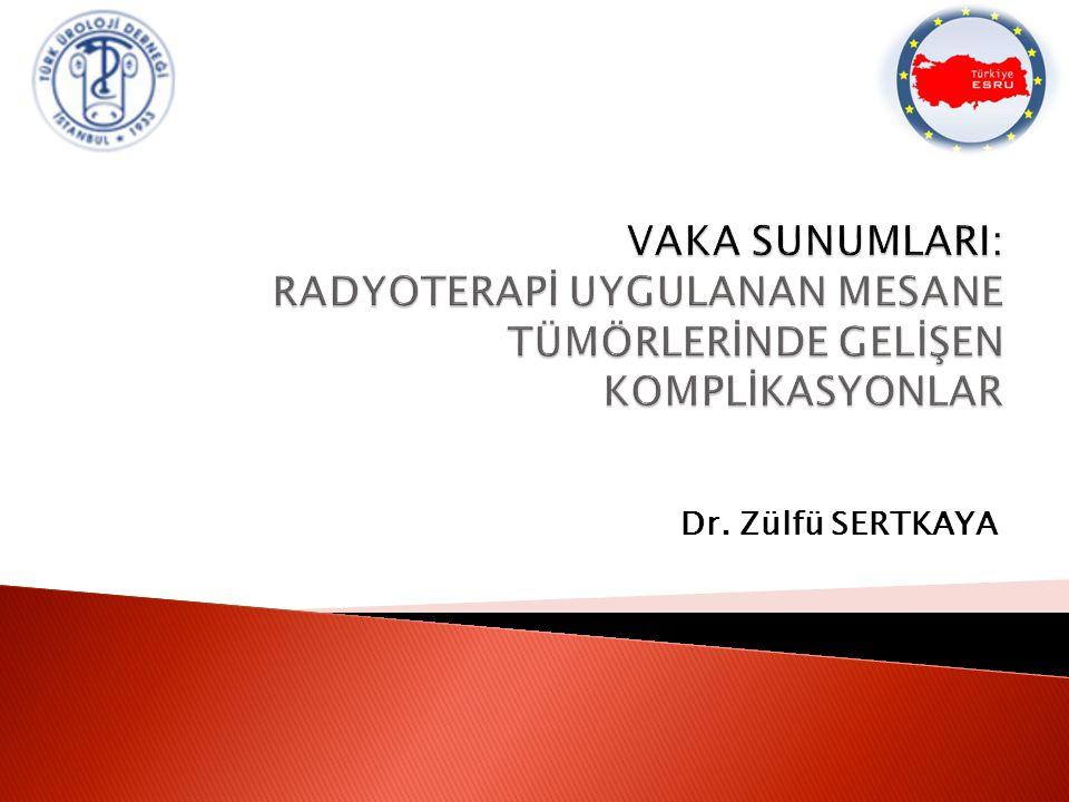 Dr. Zülfü SERTKAYA