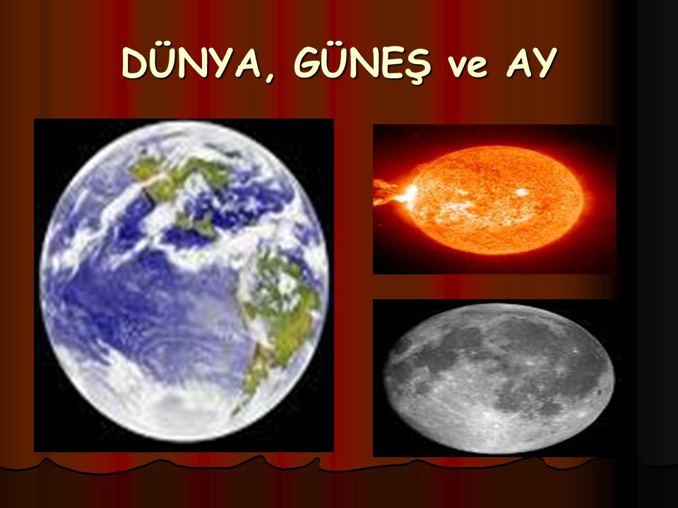 DÜNYA'MIZ EŞSİZ BİR GEZEGEN -Tüm gezegenlerden en çok suyu olanıdır.
