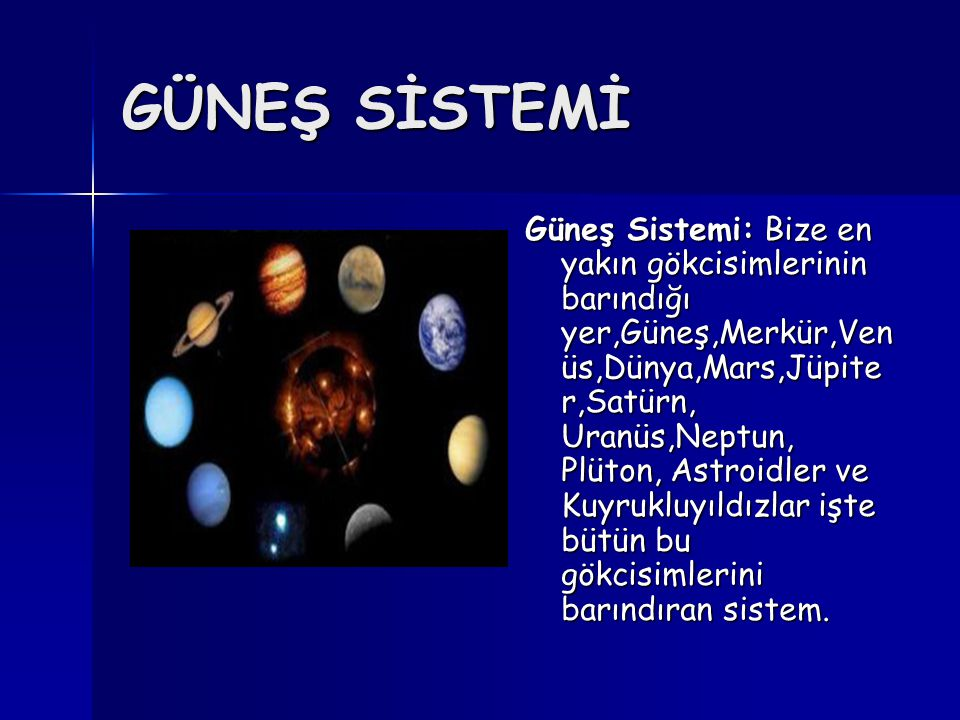 SADIK DOSTUMUZ AY Ay Dünya'mızın uydusudur.Geceleri Güneş'ten aldığı ışığı bize yansıtır.
