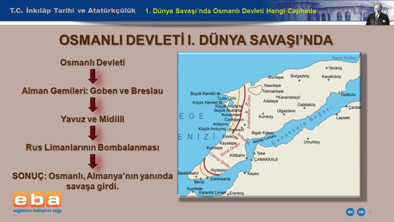 T.C.İnkılâp Tarihi ve Atatürkçülük 4 1.