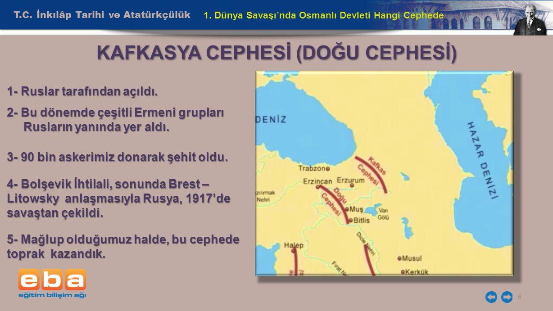 T.C.İnkılâp Tarihi ve Atatürkçülük 6 1.