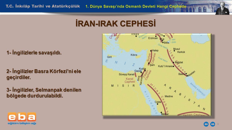 T.C.İnkılâp Tarihi ve Atatürkçülük 8 1.
