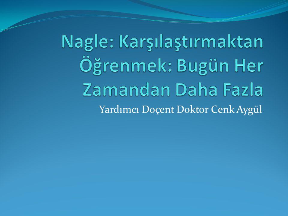 Yardımcı Doçent Doktor Cenk Aygül