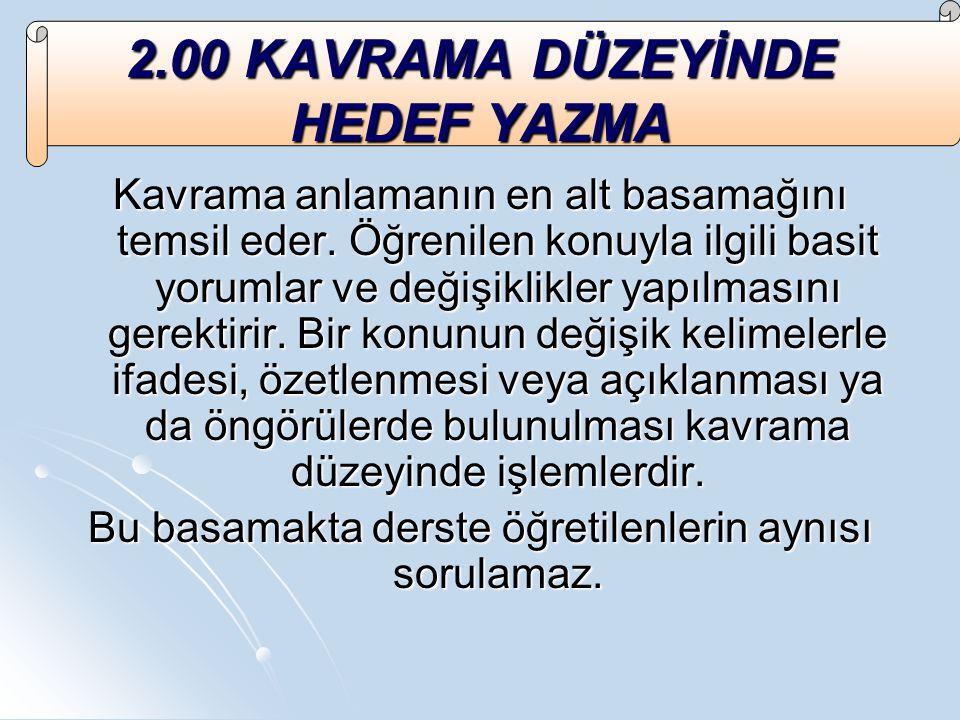Kaynakça Beydoğan, Ö., Öğretimde Planlama ve Değerlendirme, Eser Ofset.