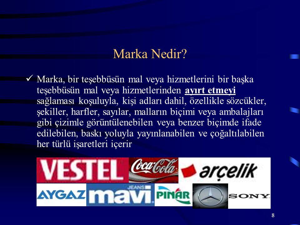 29 h) Halka mal olmuş, t arihi, kültürel değerler içeren markalar Mutlak Red Nedenleri