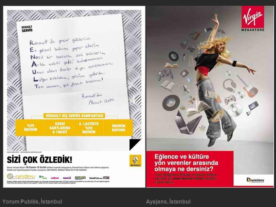 Yorum Publiis, İstanbulAyajans, İstanbul