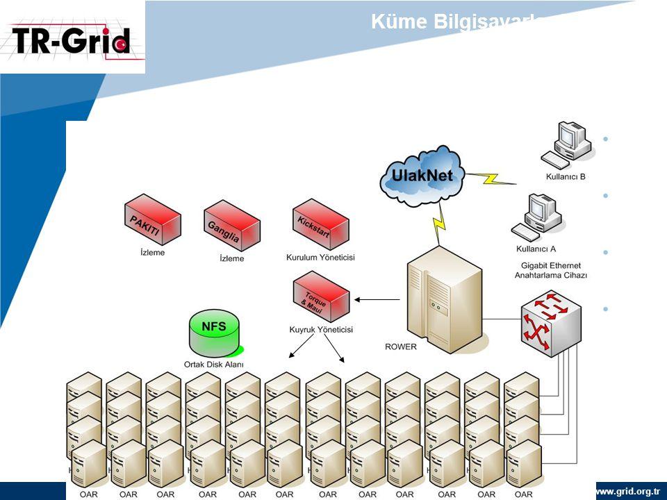www.grid.org.tr Küme Bilgisayarlarda İş Akışı (Örnek: TR-03-METU)