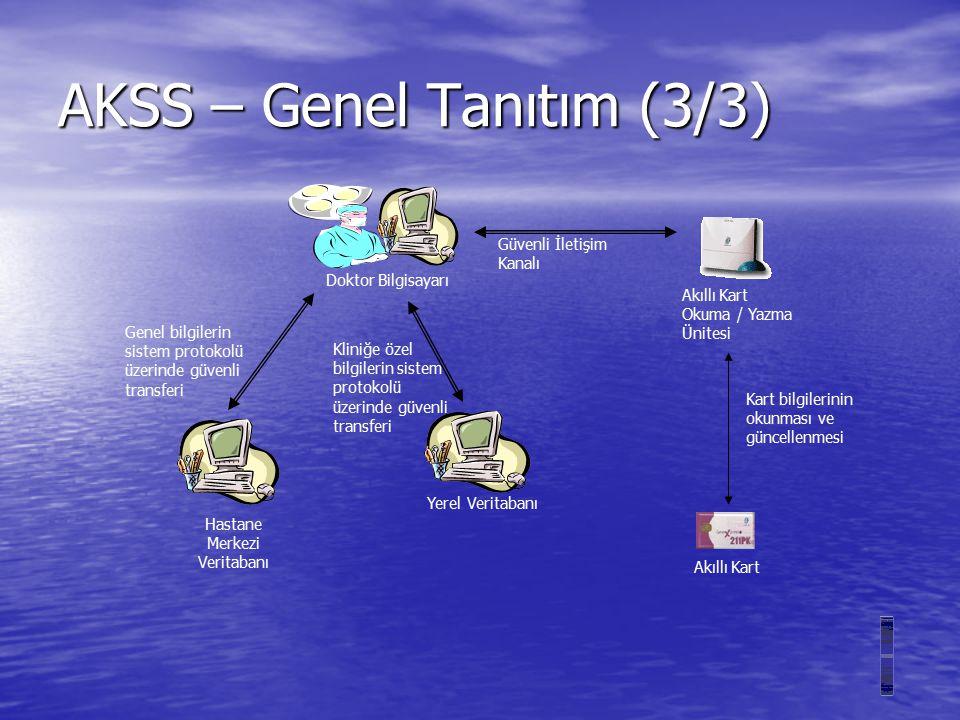 AKSS – Sistem Mimarisi (2/2)