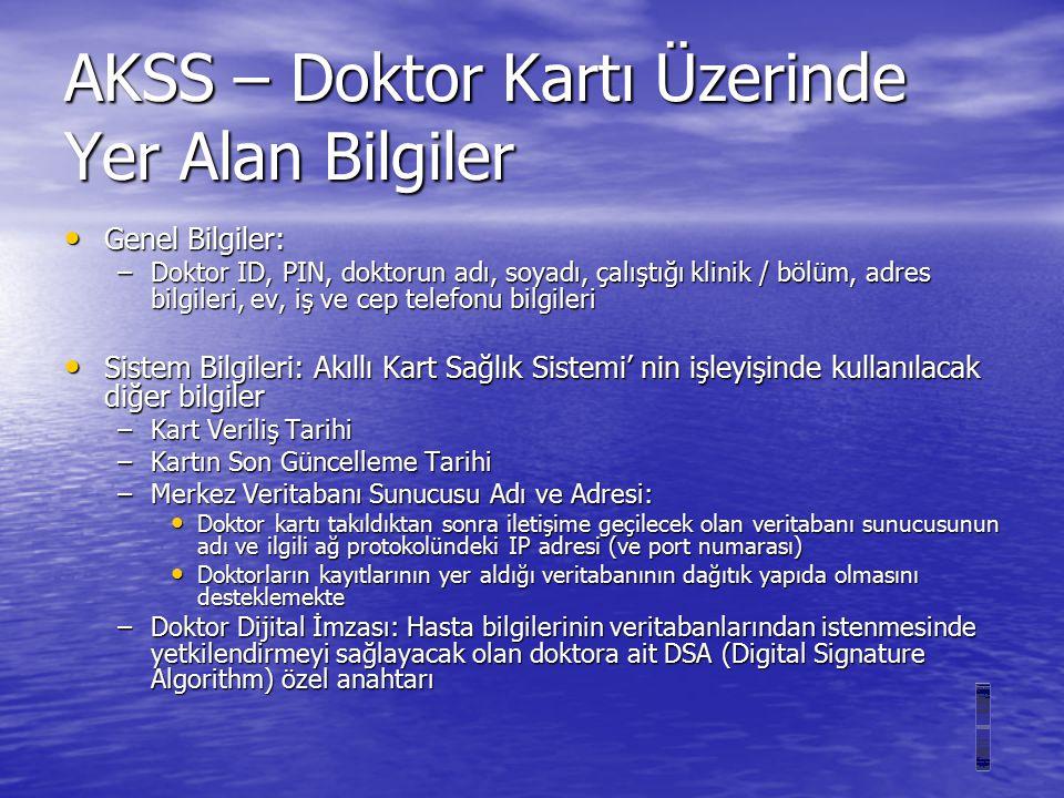 AKILLI KART SAĞLIK SİSTEMİ Geylani KARDAŞ, MSc.Bilgisayar Mühendisi Proje Danışmanı: Prof.