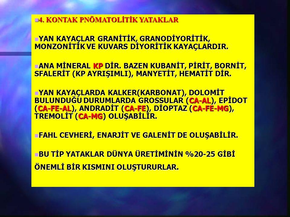 4.KONTAK PNÖMATOLİTİK YATAKLAR 4.