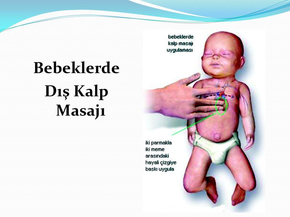 Bebeklerde Dış Kalp Masajı